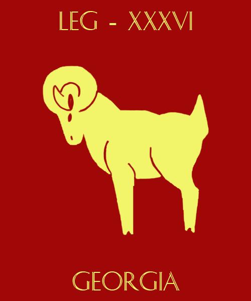 Flag of the Legion Thirty Six by ThanyTony