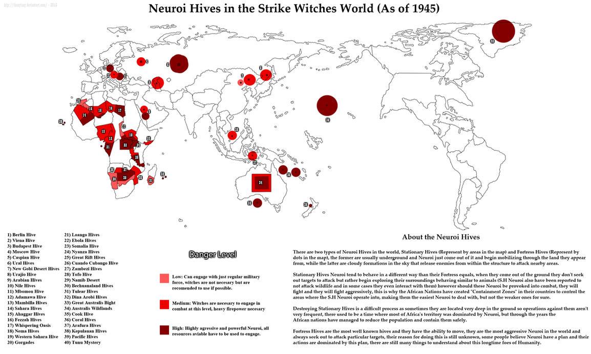 Neuroi Hives Across the World by ThanyTony