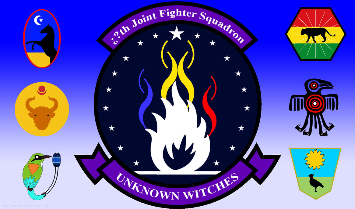 XXth Joint Fighter Squadron: The Unknown Witches by ThanyTony