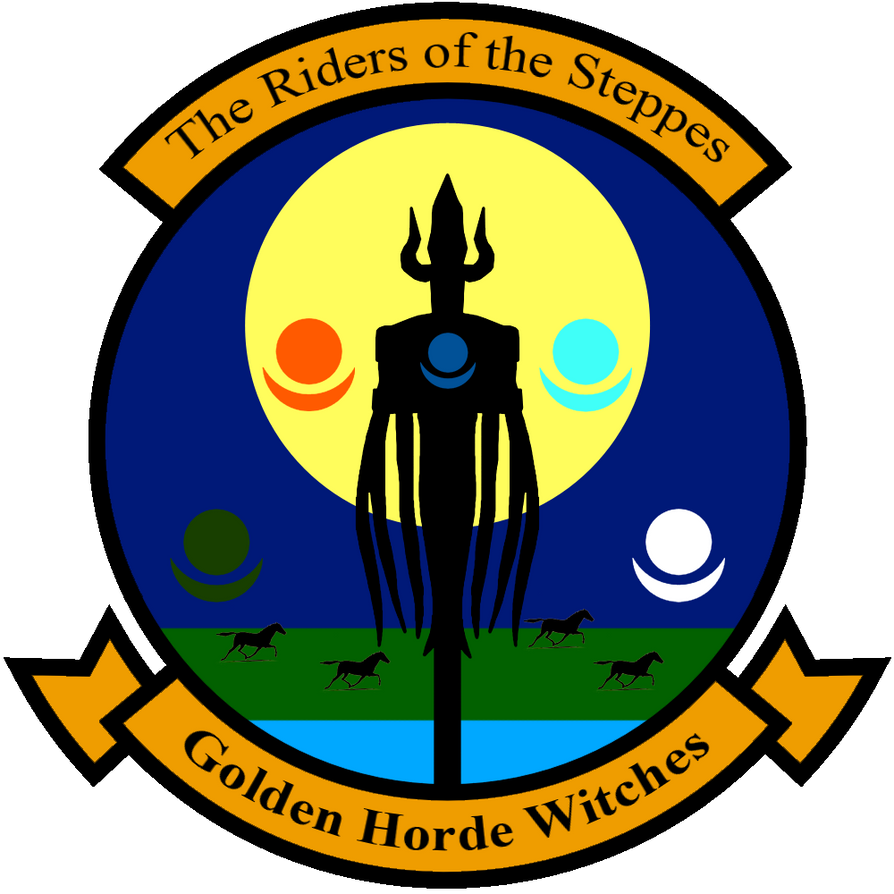 SW Emblem: Golden Horde Witches by ThanyTony