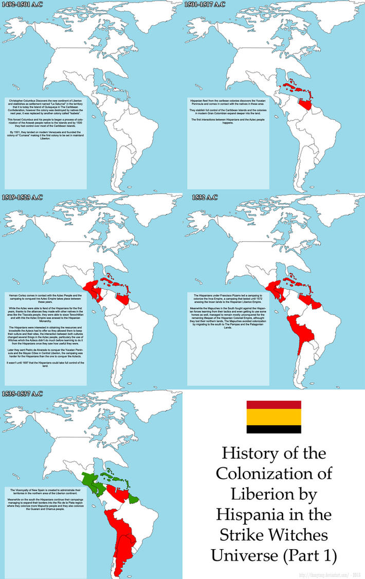 SW: History of Liberion Colonization (Hispania 1) by ThanyTony