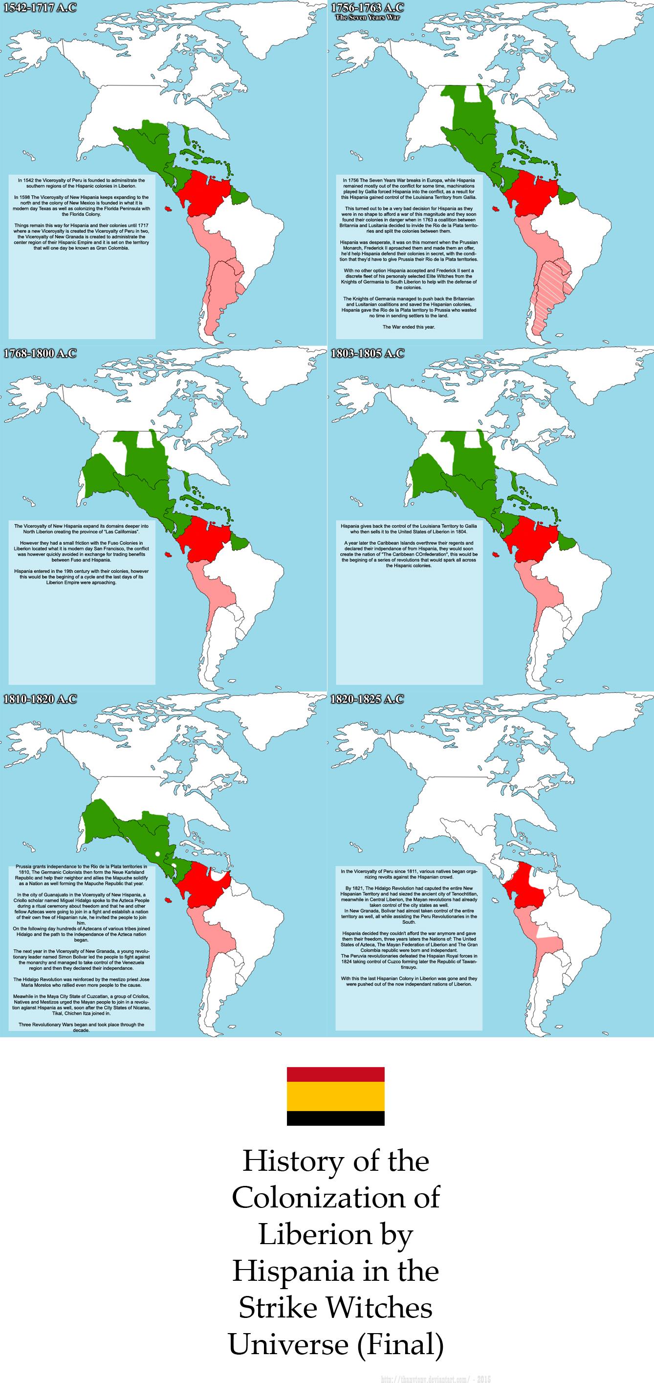 SW: History of Liberion Colonization (Hispania 2) by ThanyTony