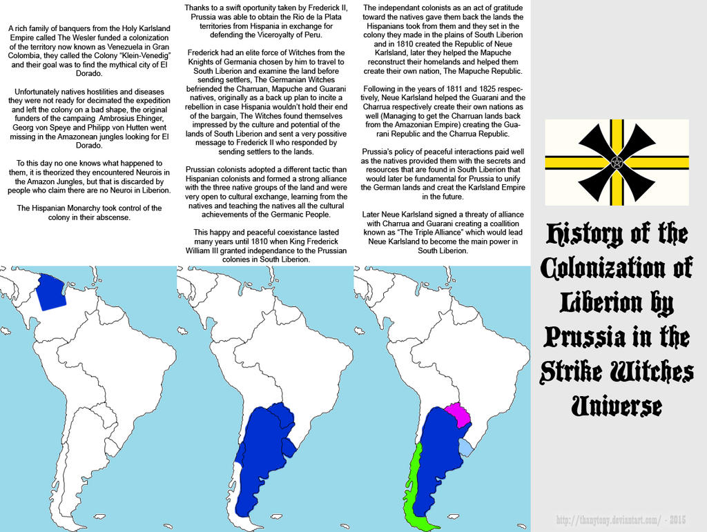 SW: History of Liberion Colonization (Prussia) by ThanyTony