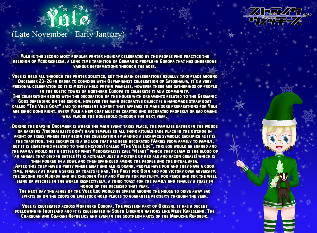 Holiday Witches 2#: Yule by ThanyTony