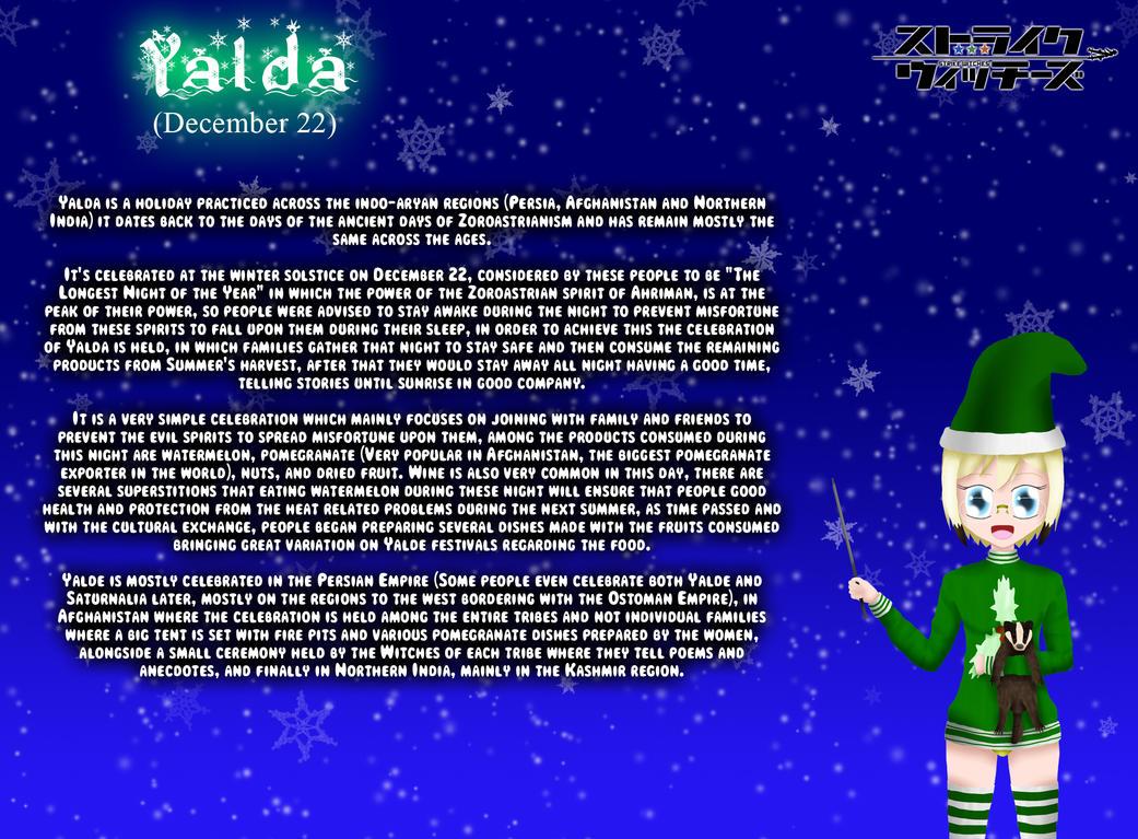 Holiday Witches 3#: Yalda by ThanyTony