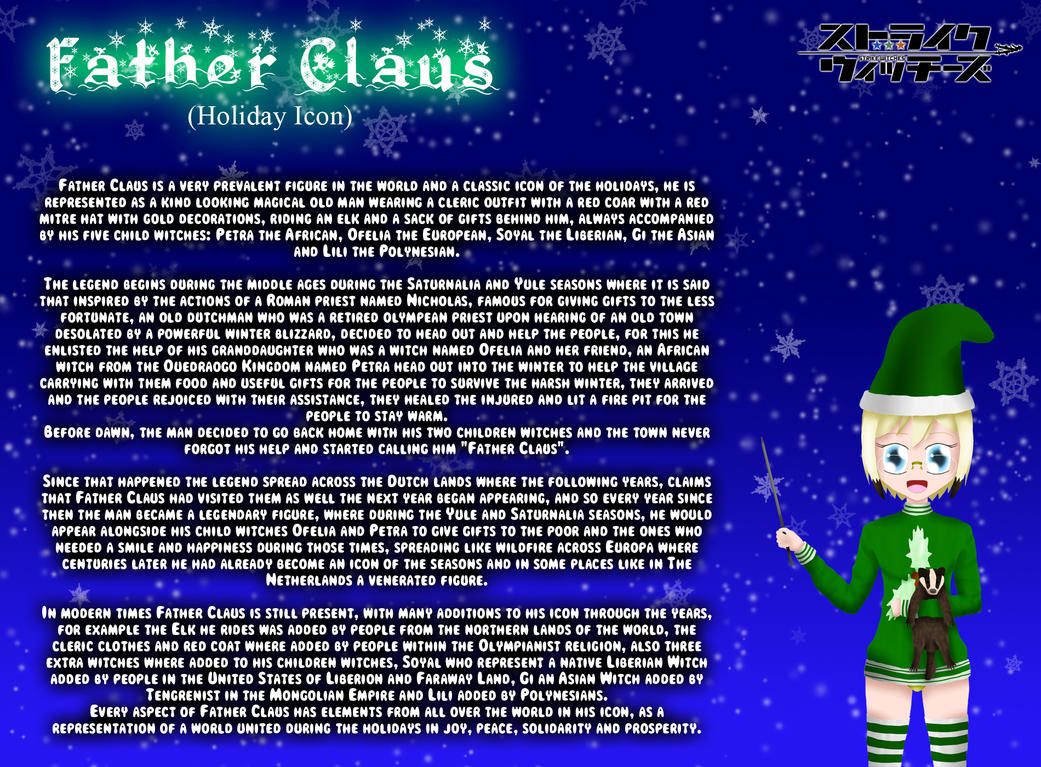 Holiday Witches 4#: Father Claus by ThanyTony
