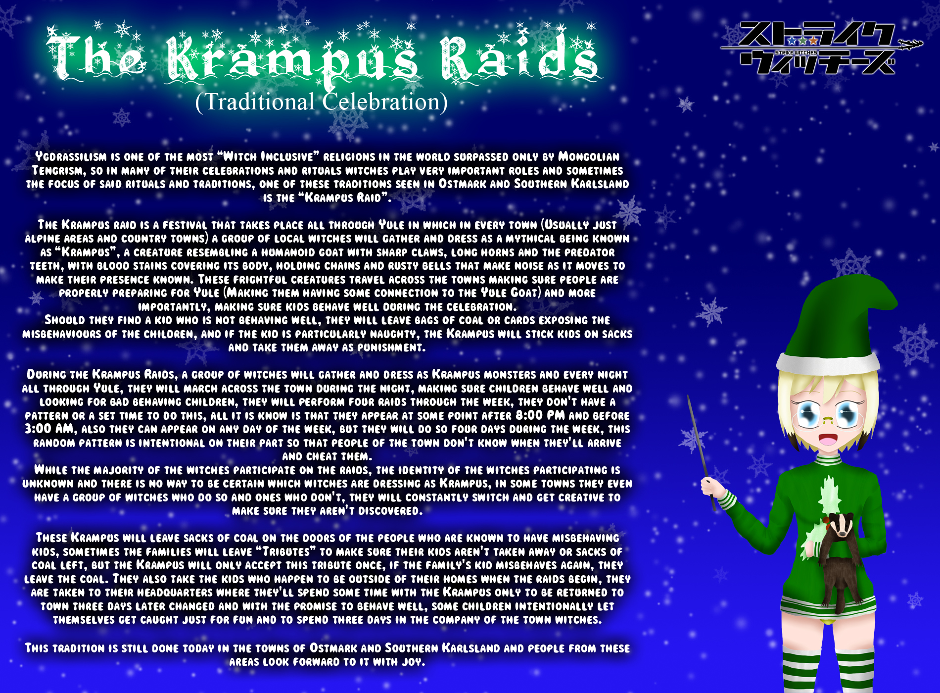 Holiday Witches 6#: The Krampus Raids by ThanyTony