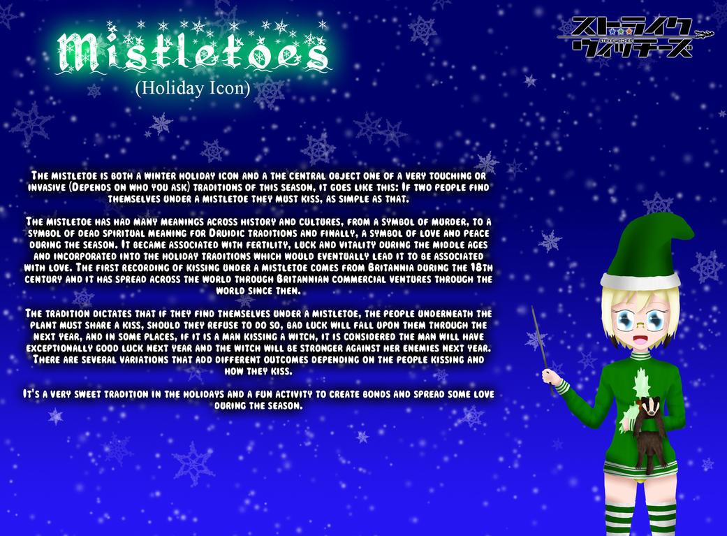 Holiday Witches 7#: The Mistletoe by ThanyTony