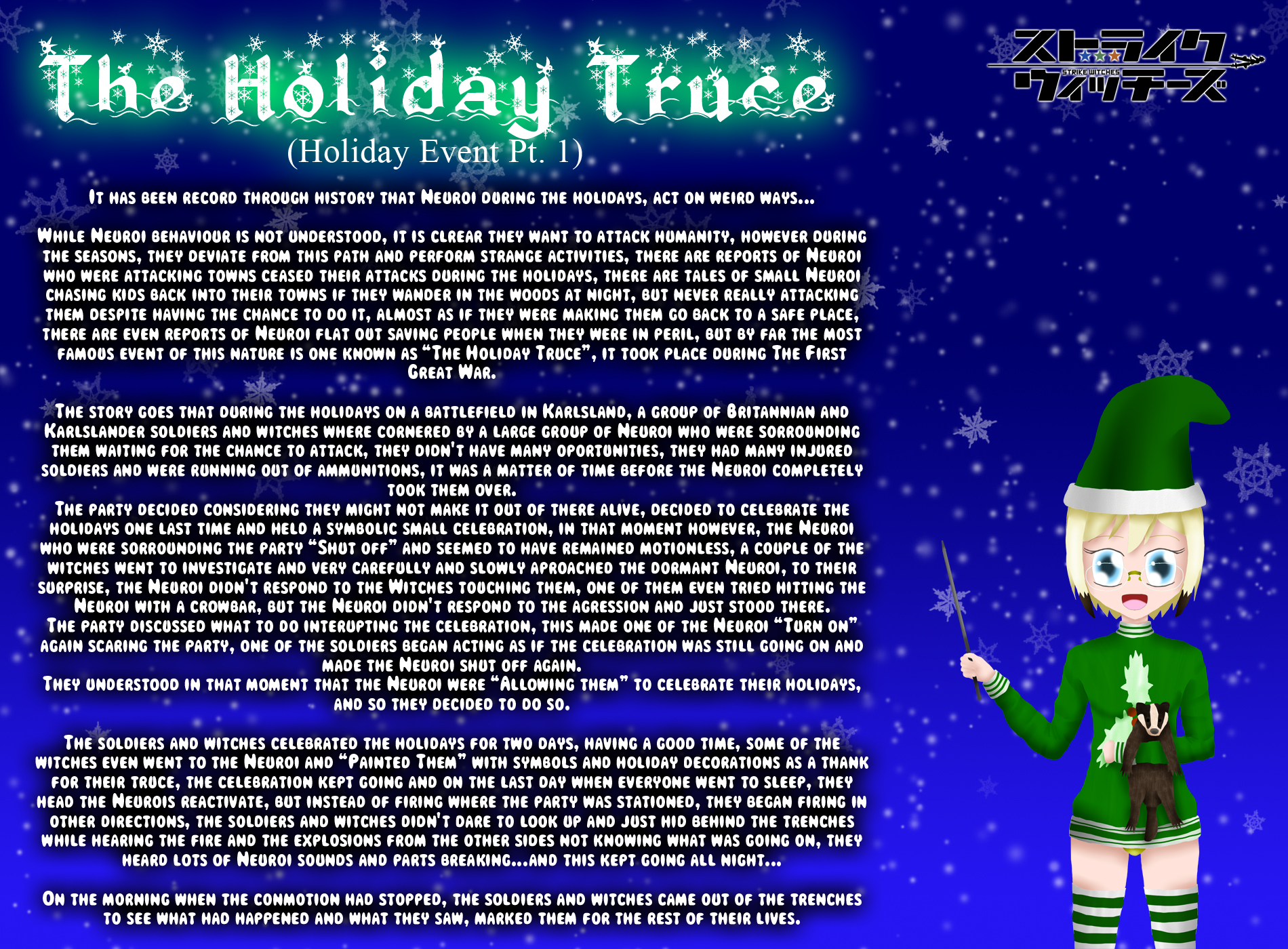 Holiday Witches 9#: The Holiday Truce (Pt 1) by ThanyTony