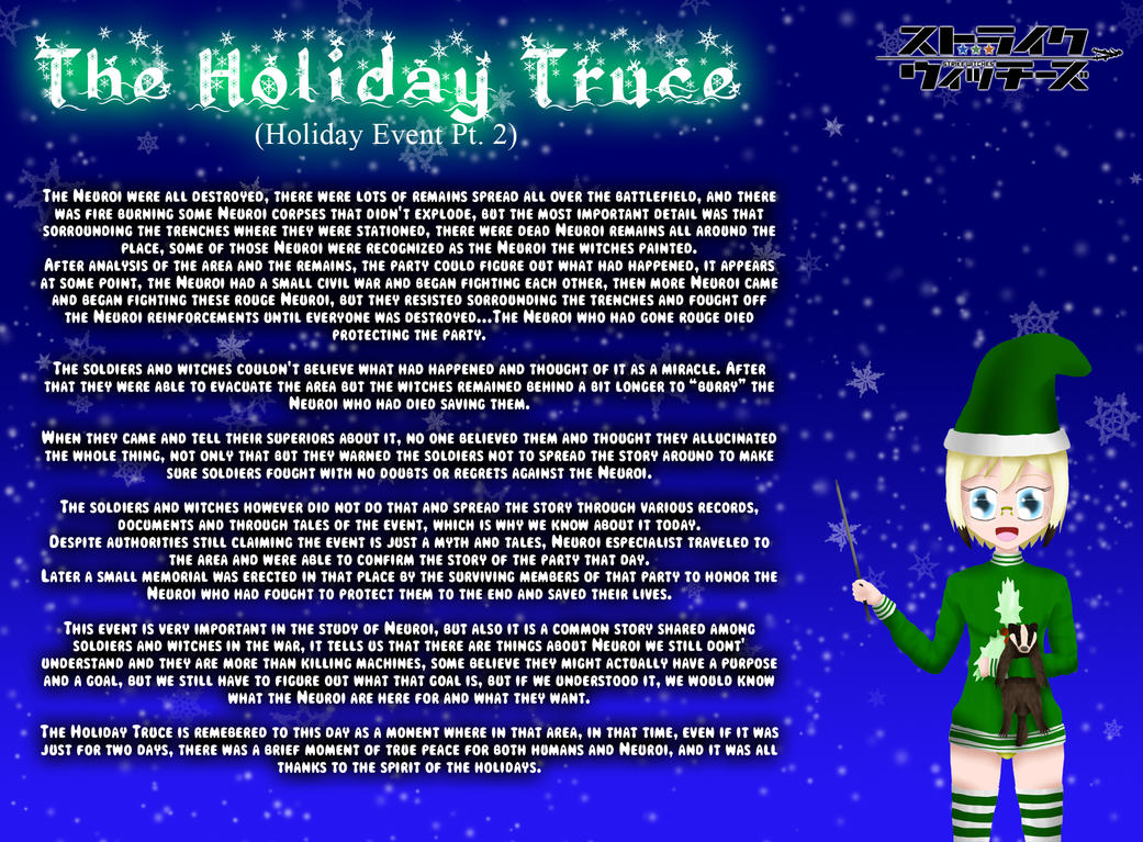 Holiday Witches 10#: The Holiday Truce (Pt 2) by ThanyTony