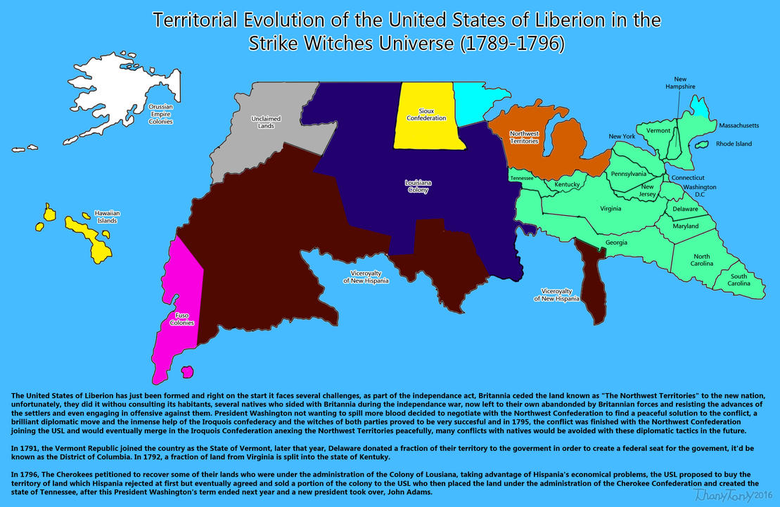 SW: Territorial Evolution of the United States 2 by ThanyTony