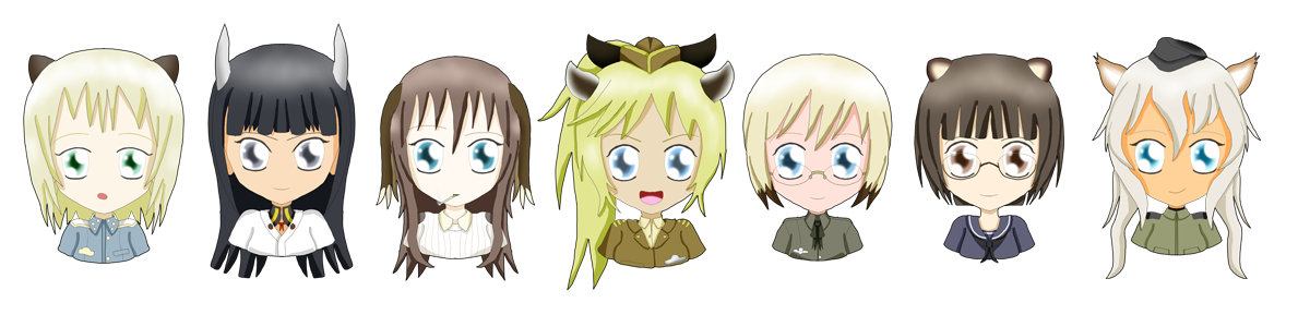 Witch Busts: The Silent Witches (507) by ThanyTony