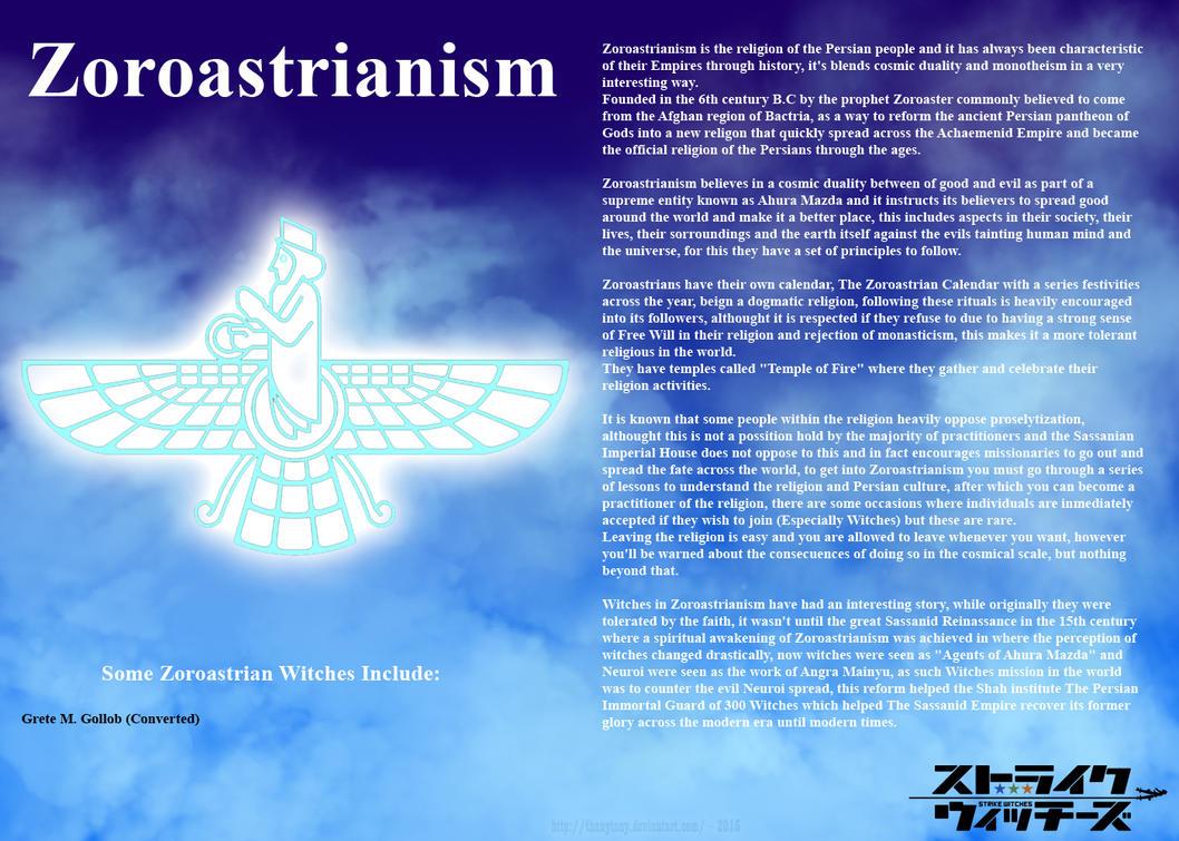 Religions of Strike Witches: Zoroastrianism by ThanyTony