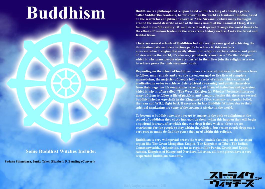 Religions of Strike Witches: Buddhism by ThanyTony