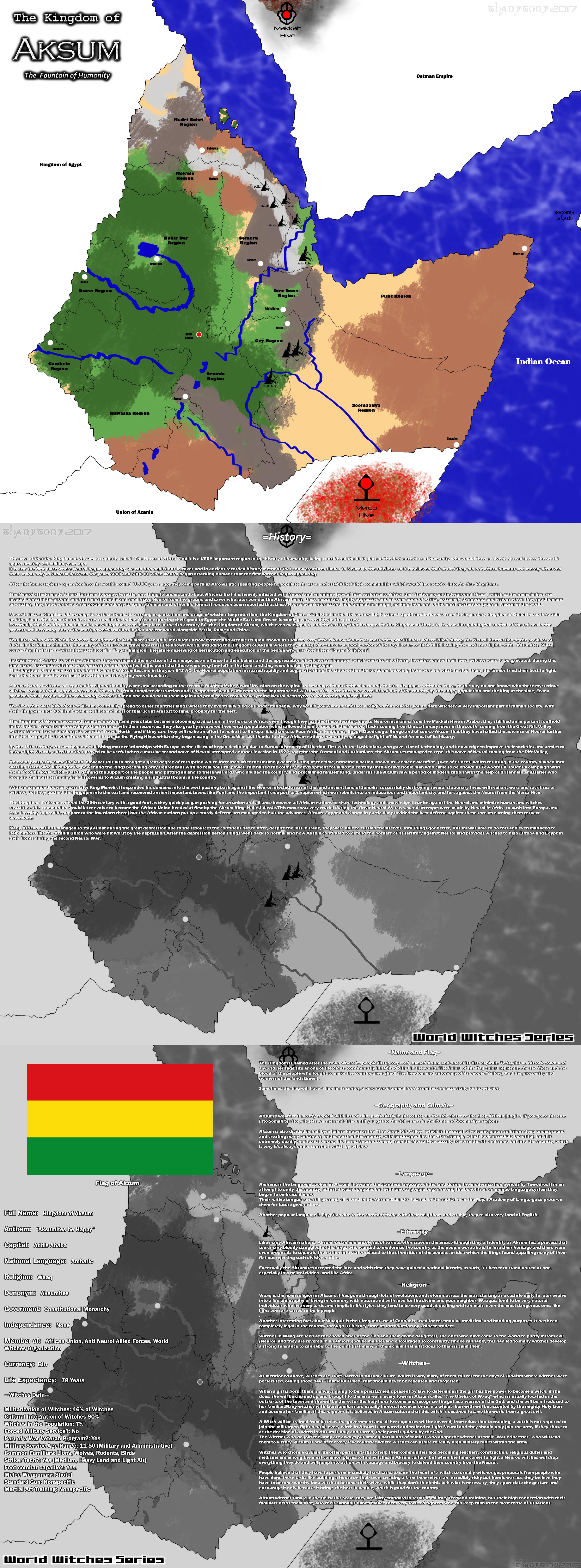 WW Maps: Aksum by ThanyTony