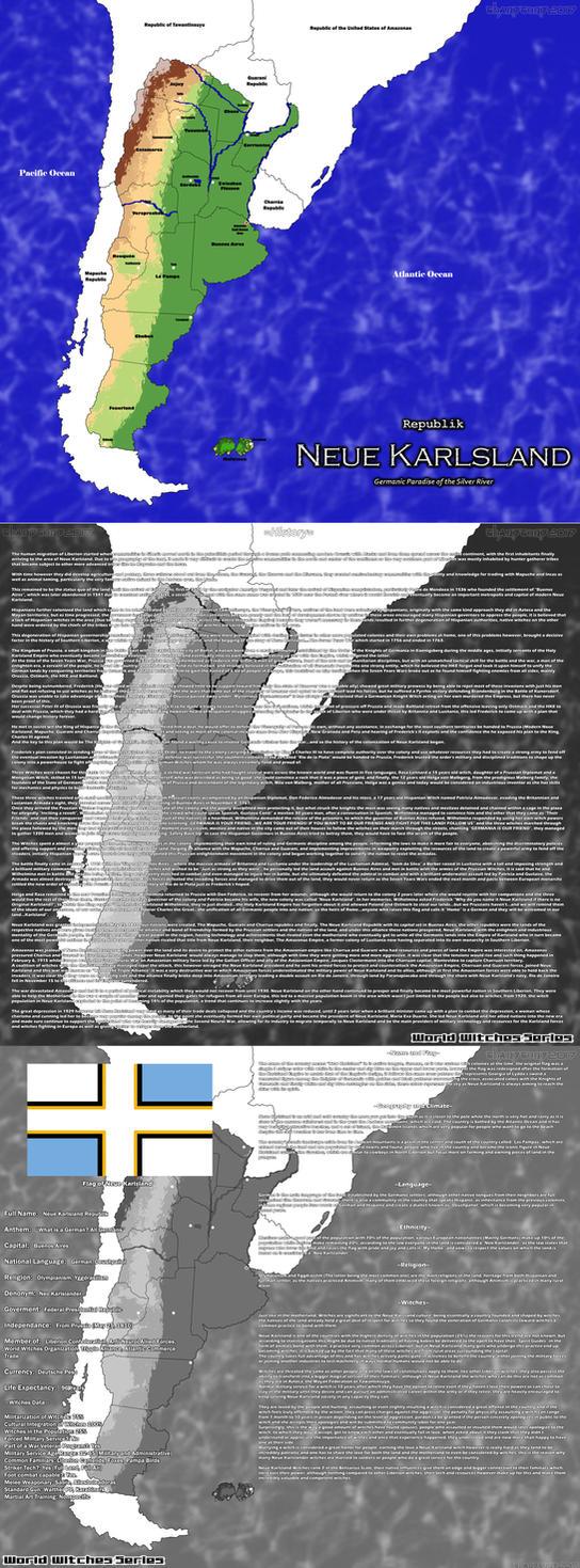 WW Maps: Neue Karlsland by ThanyTony