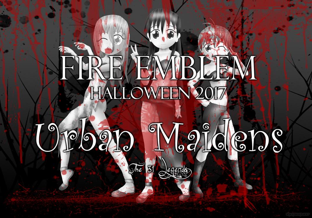Fire Emblem Halloween 2017: Urban Maidens by ThanyTony
