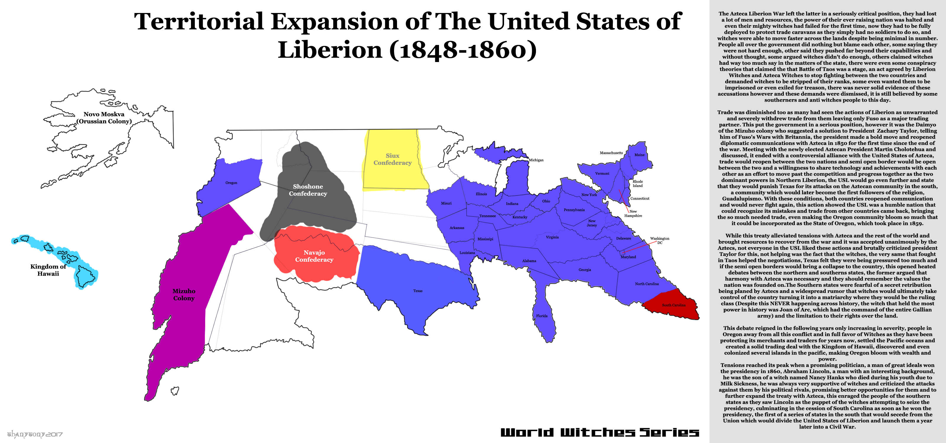 WW: History of the United States of Liberion (Pt7) by ThanyTony