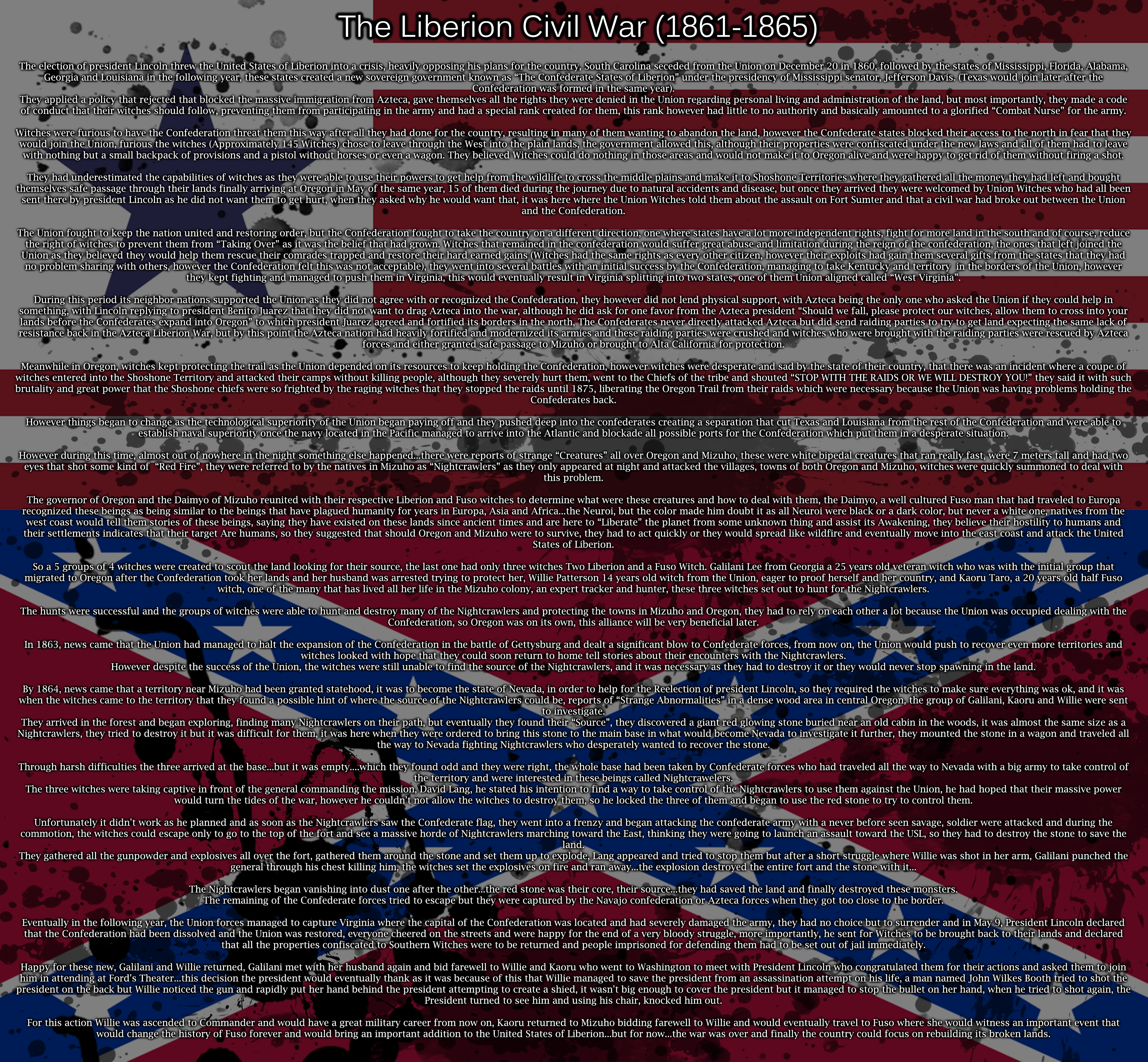 WW: History of the United States of Liberion (Pt8) by ThanyTony