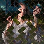 through fence by Trage3k