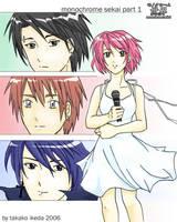 Monochrome Sekai Cover Page by DreamerTakako