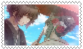 Mikoto and Itsuki Wedding Stamp by Sweet-Sharotto