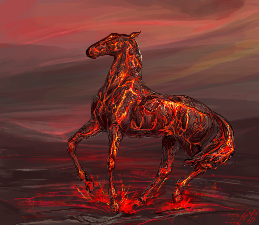 Risen from the magma by UlEos