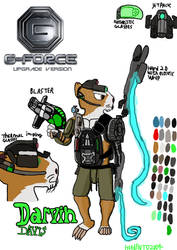 G-Force Upgrade version: Darvin Davis by Hudento2004