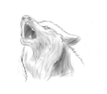Soyons original... ♥ Howling_wolf_by_poirouche-d574fh6