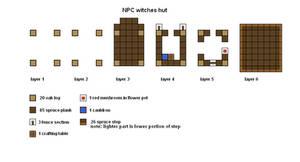 updated Minecraft Witches Hut