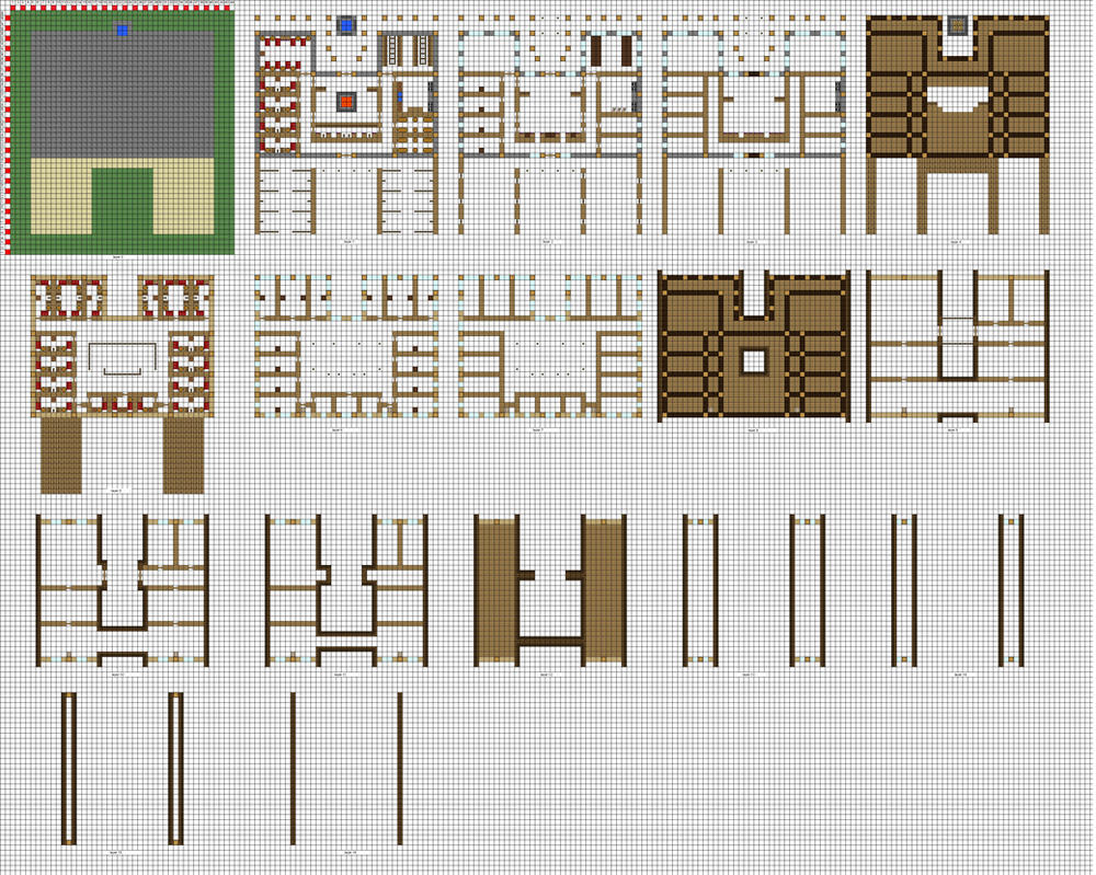 Marvelous Minecraft Large Inn Floorplans WiP By ColtCoyote ...