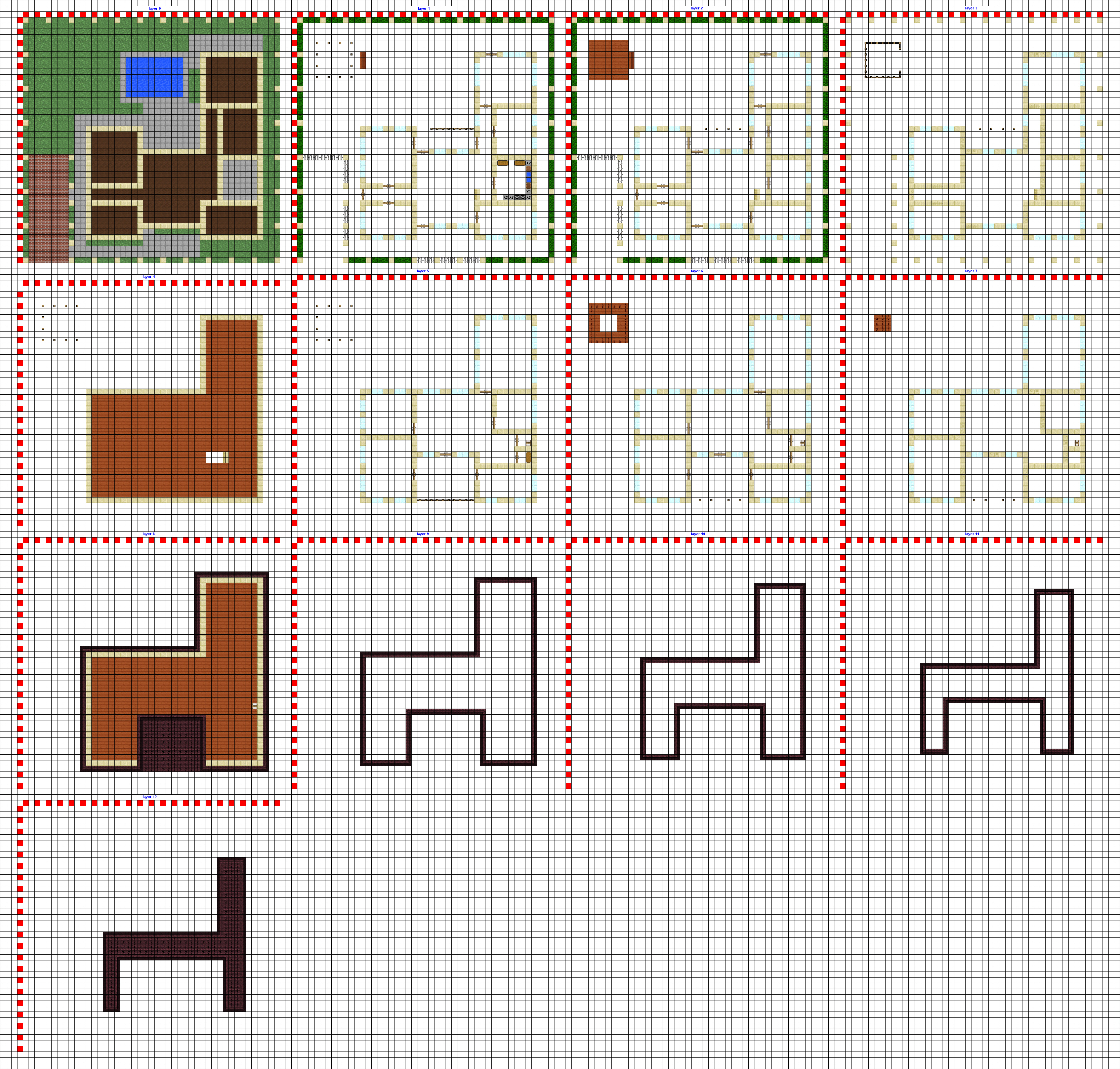 Modern house wip by coltcoyote on deviantart for Minecraft building plans step by step