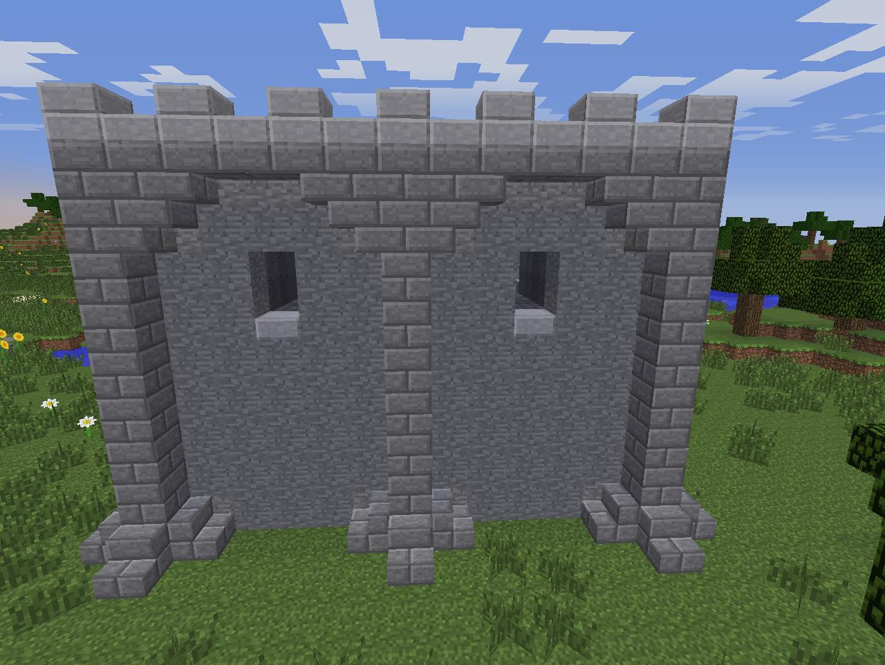 minecraft castle design ideas