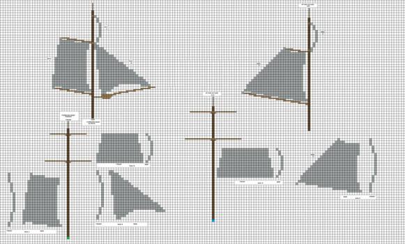 Brig Mk2 Sails