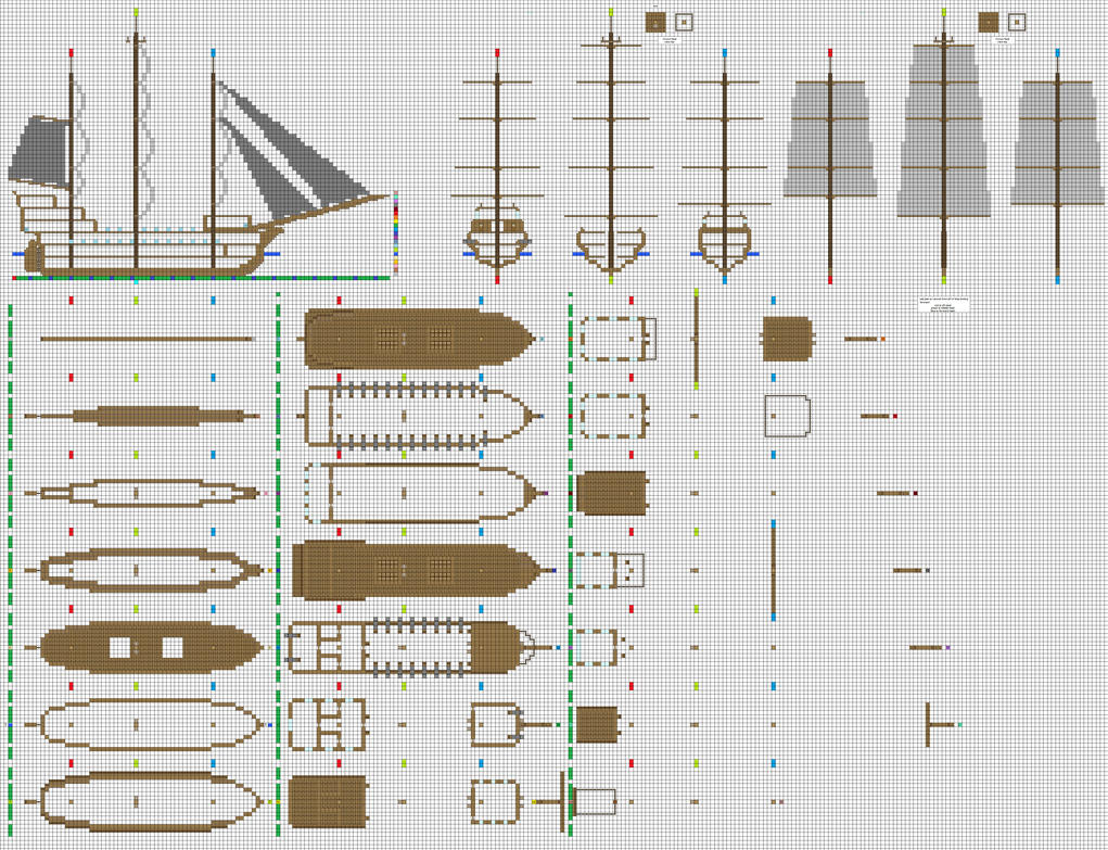 Warship sail test by coltcoyote on deviantart Building blueprint maker