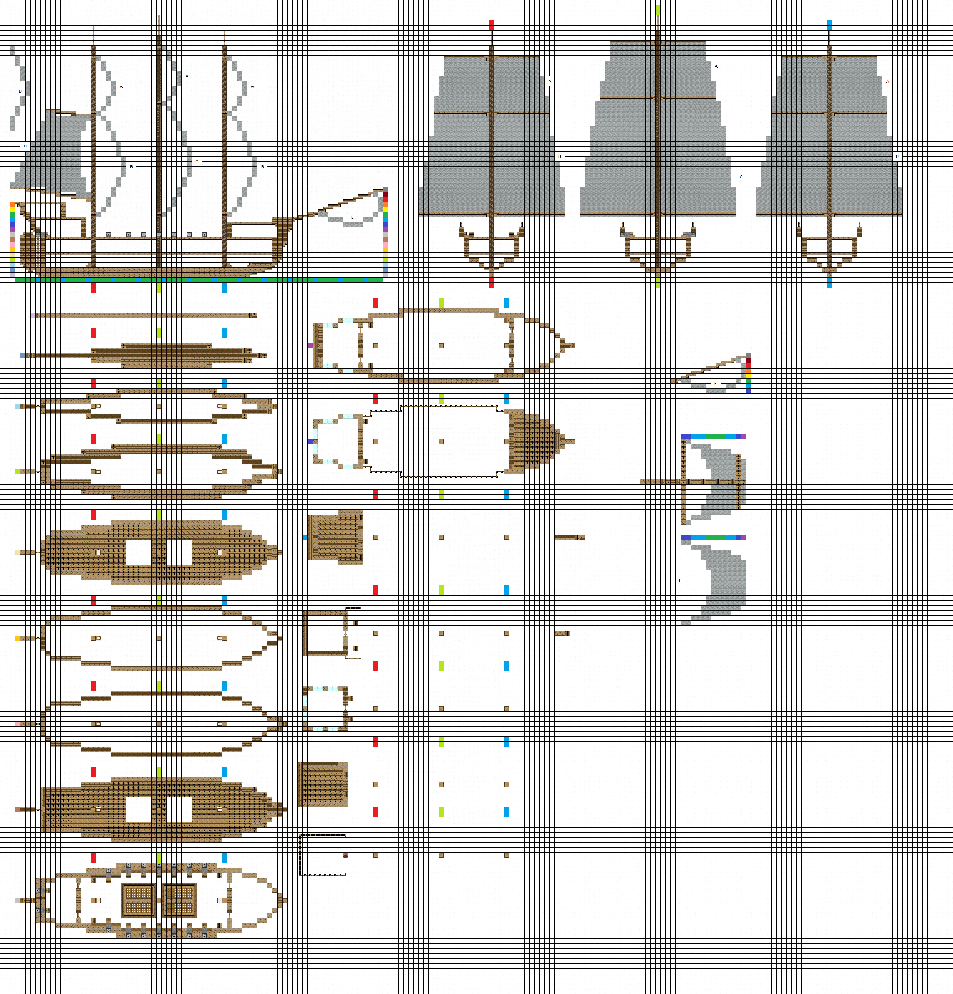 Small frigate by coltcoyote on deviantart for How to build a small house step by step