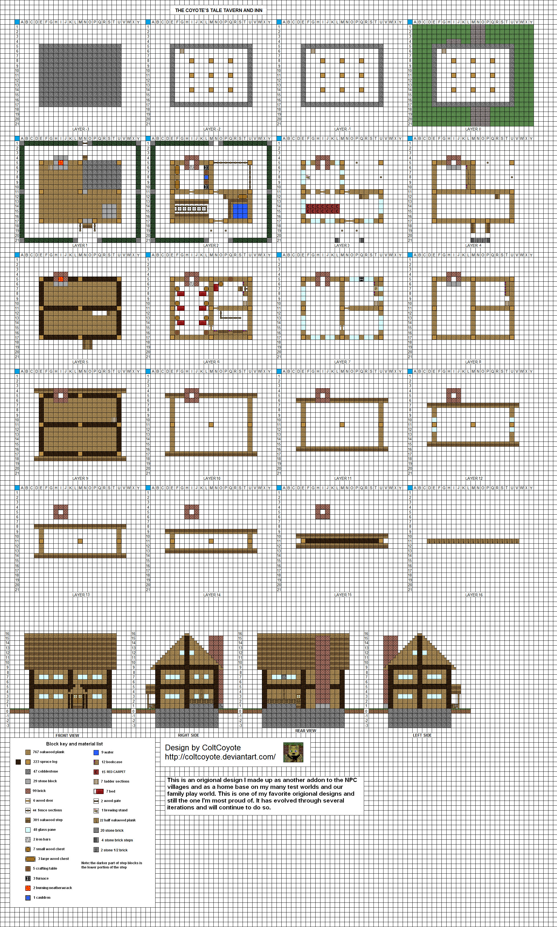 Small inn mk3 by coltcoyote on deviantart for Home blueprint maker