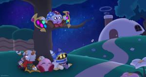 Dream friends under the stars