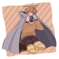 [OC] Ian with Tamaki's cape