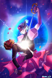 Enchanting Grom Fight X Revolutionary Girl Utena by Kasanart