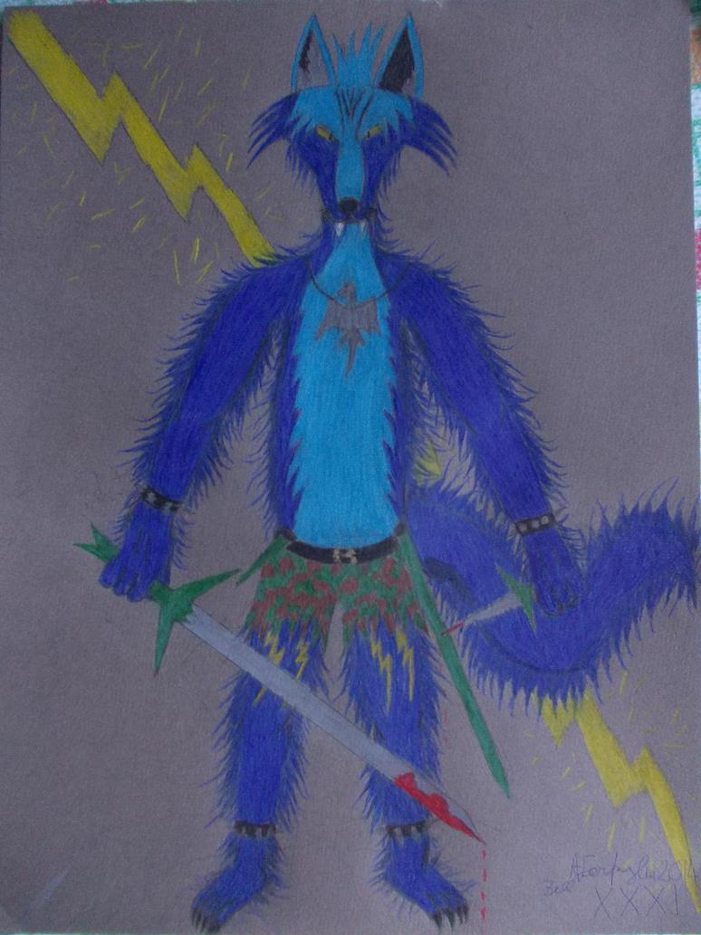 Werewolf Zell by ZarthialDragon