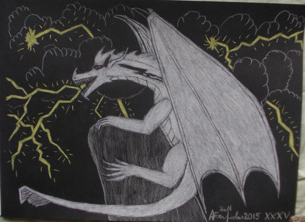 Lightning power by ZarthialDragon