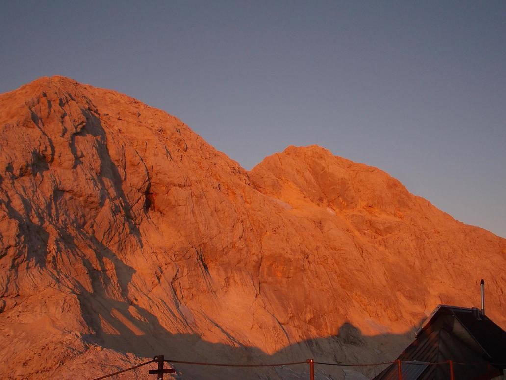 Dawn on Triglav by ZarthialDragon