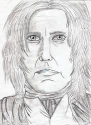 Severus Snape by santiago23