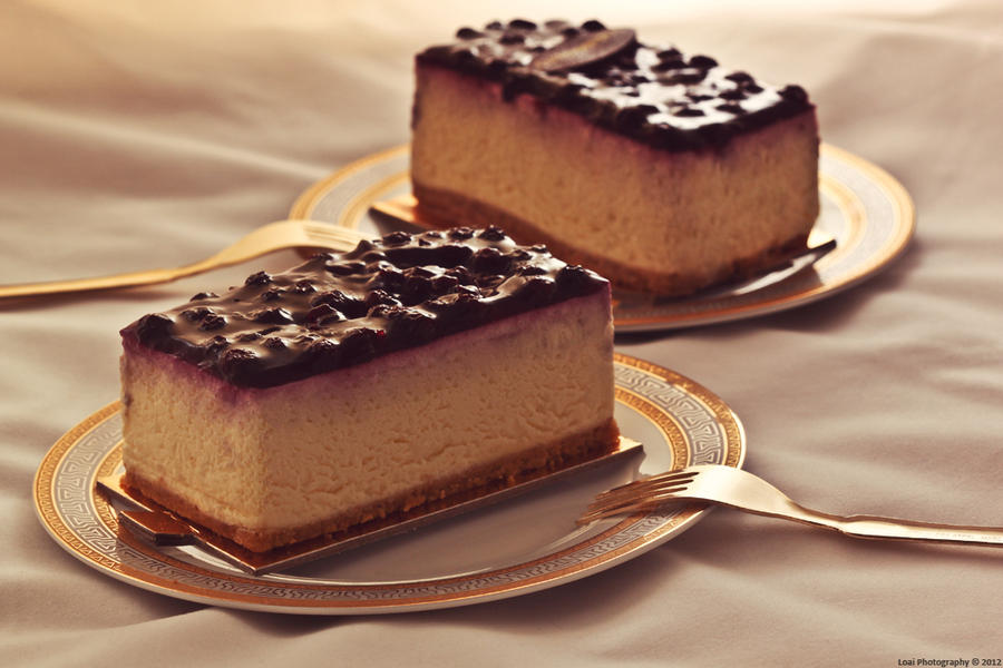 Blueberry Cheesecake by LoaiYamani on DeviantArt