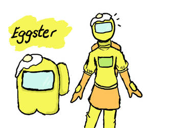 Among us teamates: Yellow/Eggster