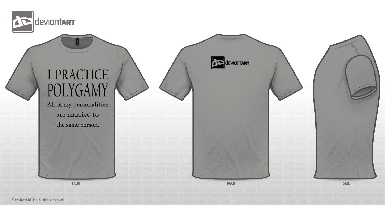 Black t shirt vector photoshop - I Practice Polygamy By Lmanuel47 I Practice Polygamy By Lmanuel47