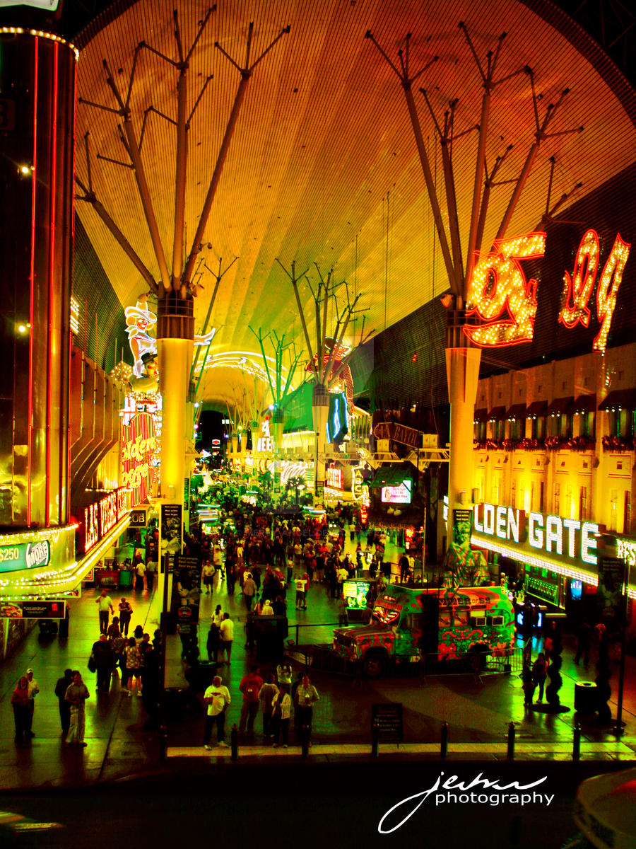 Fremont Street by Mercy-Angel