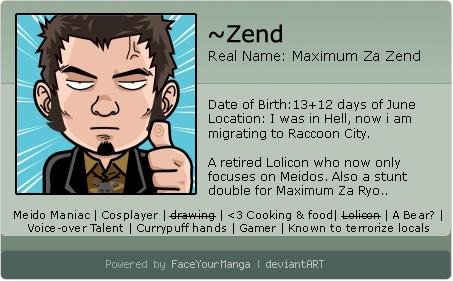 zend's Profile Picture