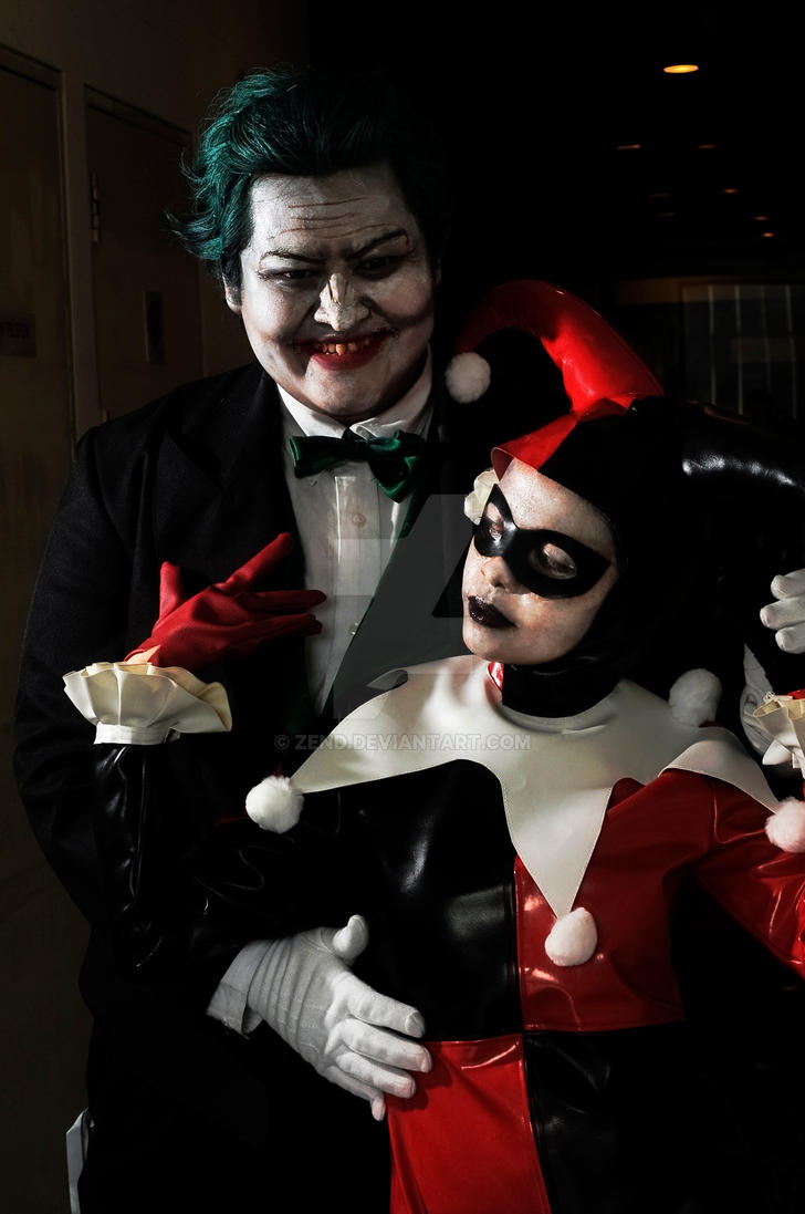 Joker and Harley by zend